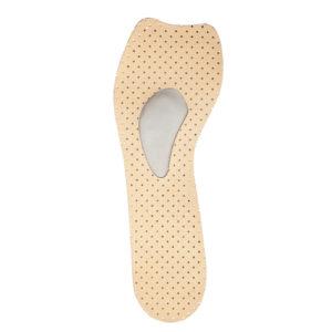 Шкіряна напівустілка-супінатор для модельного взуття ШНС-003